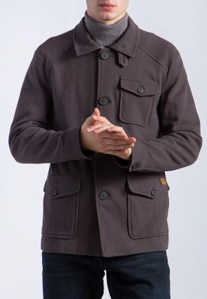 Куртка Finn Flare. Цвет: серый