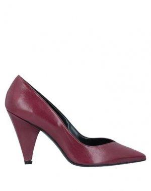 Туфли GIANNI MARRA. Цвет: красно-коричневый