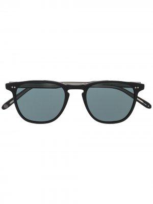 Солнцезащитные очки Brooks Garrett Leight. Цвет: серый