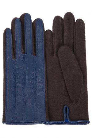 Перчатки Dali Exclusive. Цвет: синий, черный