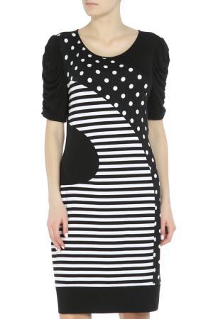 Платье Joseph Ribkoff. Цвет: черный