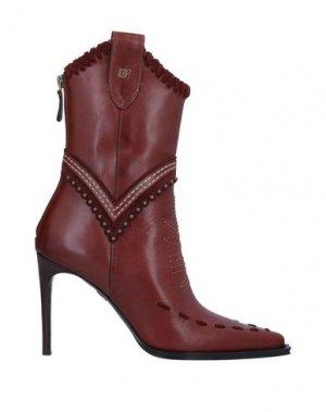 Полусапоги и высокие ботинки DSQUARED2. Цвет: коричневый