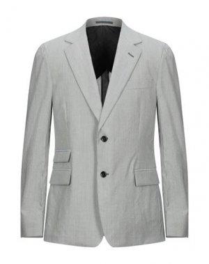 Пиджак SAINT LAURENT. Цвет: серый