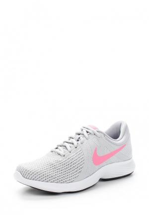 Кроссовки Nike WOMENS REVOLUTION 4 RUNNING SHOE (EU). Цвет: серый