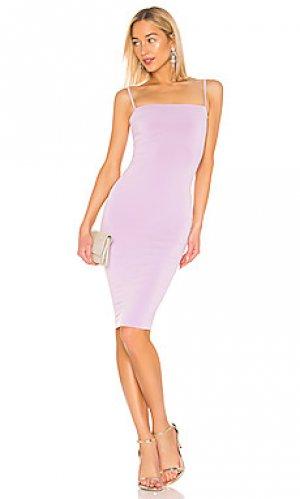 Облегающее мини-платье charlize Nookie. Цвет: бледно-лиловый