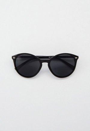 Очки солнцезащитные Eyelevel Billie. Цвет: черный