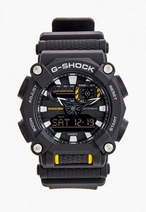 Часы Casio G-SHOCK GA-900-1AER. Цвет: черный