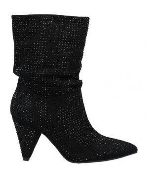 Полусапоги и высокие ботинки FORNARINA. Цвет: черный