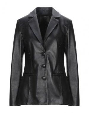 Пиджак DROMe. Цвет: черный