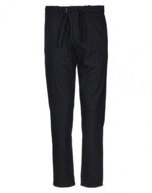 Повседневные брюки COMODO. Цвет: темно-синий