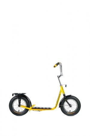 Самокат Forward. Цвет: желтый