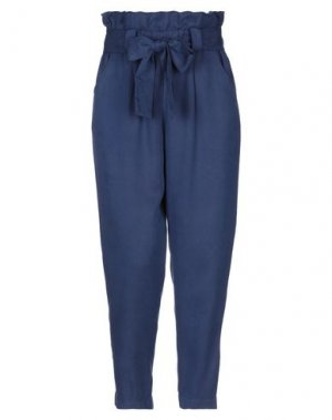 Повседневные брюки LE MONT ST MICHEL. Цвет: темно-синий