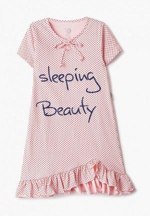 Сорочка ночная Ruz Kids. Цвет: розовый