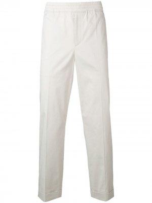 Классические зауженные брюки Neil Barrett. Цвет: серый