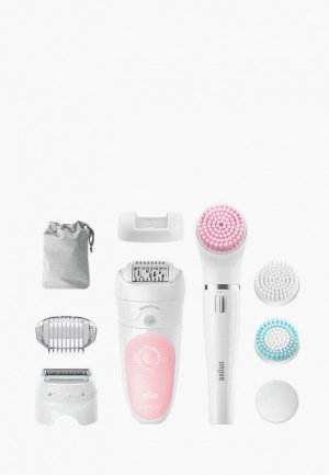 Эпилятор Braun Silk-epil 5 Beauty Set SES 5/895. Цвет: белый