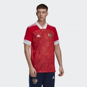 Домашняя футболка сборной России Performance adidas. Цвет: красный