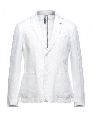 Пиджак SSEINSE. Цвет: белый
