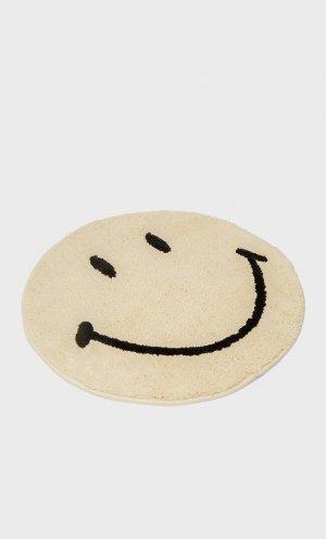 Коврик Smiley ® Цвет Небеленого Полотна 103 Stradivarius. Цвет: цвет небеленого полотна