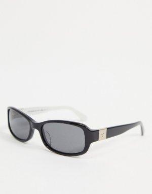 Солнцезащитные очки с узкими линзами paxton-Черный цвет Kate Spade