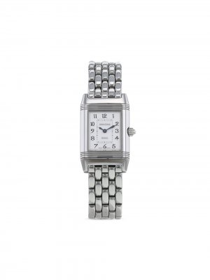 2000 pre-owned Reverso-Duetto 21mm Jaeger-LeCoultre. Цвет: серебристый