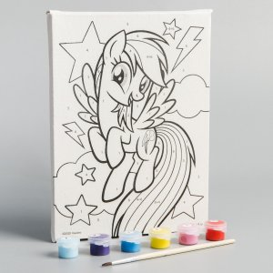 Картина по номерам Hasbro
