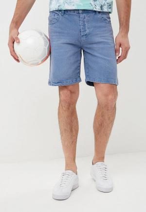 Шорты джинсовые Fresh Brand. Цвет: синий