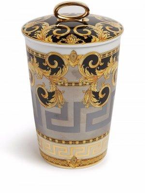 Набор свечей Prestige Gala Versace. Цвет: белый