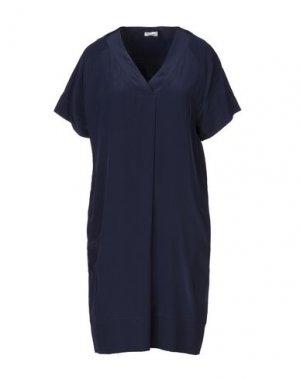 Короткое платье HENRY COTTON'S. Цвет: темно-синий