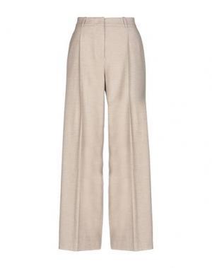 Повседневные брюки CAPPELLINI by PESERICO. Цвет: песочный