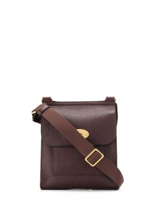 Маленькая сумка на плечо Antony Mulberry. Цвет: коричневый