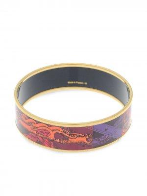 Широкий браслет PM pre-owned Hermès. Цвет: золотистый