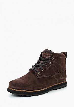 Ботинки Quiksilver GART. Цвет: коричневый