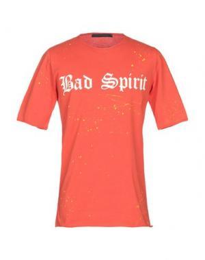 Футболка BAD SPIRIT. Цвет: оранжевый