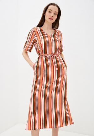 Платье UNQ. Цвет: разноцветный