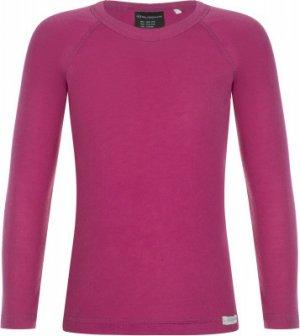 Термобелье верх для девочек , размер 164 Glissade. Цвет: розовый