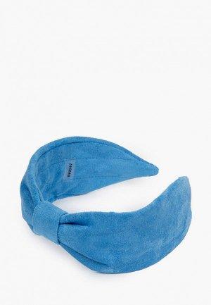 Ободок Shovv Базовый. Цвет: голубой