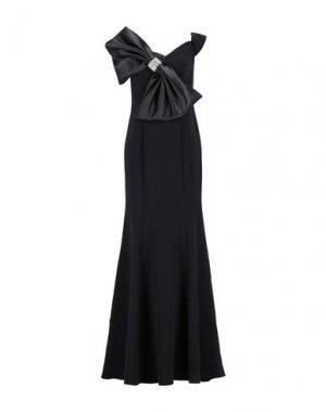 Длинное платье JOVANI. Цвет: черный