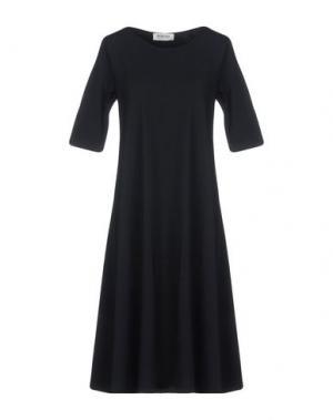 Платье до колена BIONEUMA NATURAL FASHION. Цвет: черный