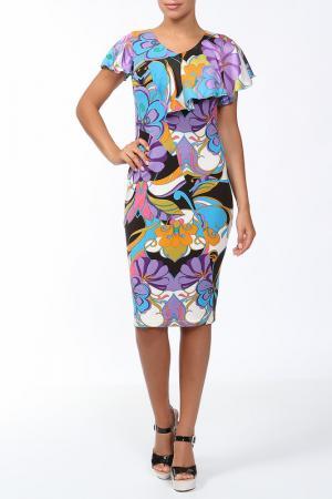 Платье Lissa. Цвет: фиолетовый