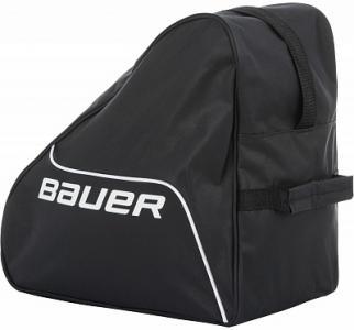 Сумка для переноски ледовых коньков Bauer. Цвет: черный