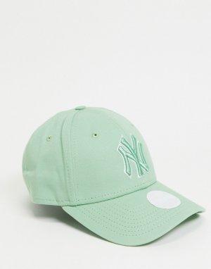 Бейсболка мятного цвета 940-Зеленый цвет New Era