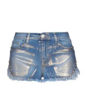 Джинсовые шорты AGOGOA. Цвет: синий