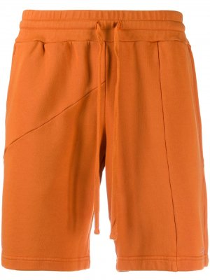 Деконструированные шорты из коллаборации с DC Retrosuperfuture. Цвет: оранжевый