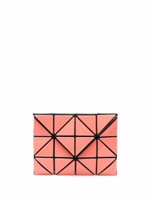 Бумажник с геометричными вставками Issey Miyake. Цвет: розовый