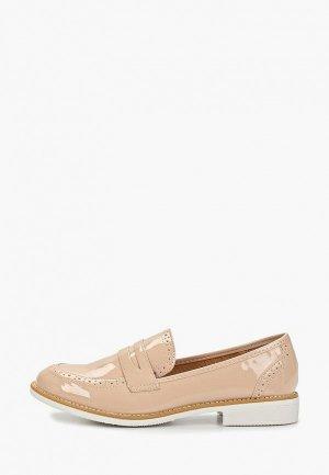 Лоферы Sweet Shoes. Цвет: розовый