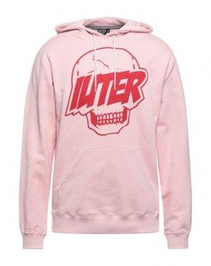 Толстовка IUTER. Цвет: розовый