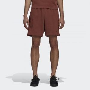 Шорты Pharrell Williams Basics Originals adidas. Цвет: коричневый