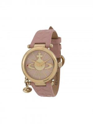 Наручные часы Orb II Vivienne Westwood. Цвет: розовый