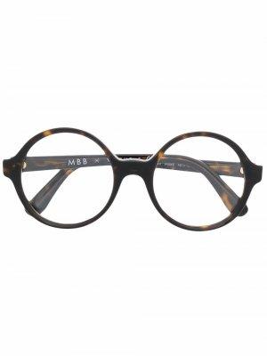 Очки London в круглой оправе Vogue Eyewear. Цвет: коричневый