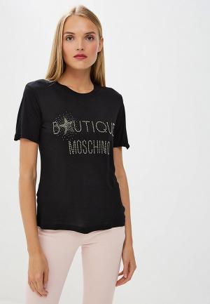 Футболка Boutique Moschino. Цвет: черный